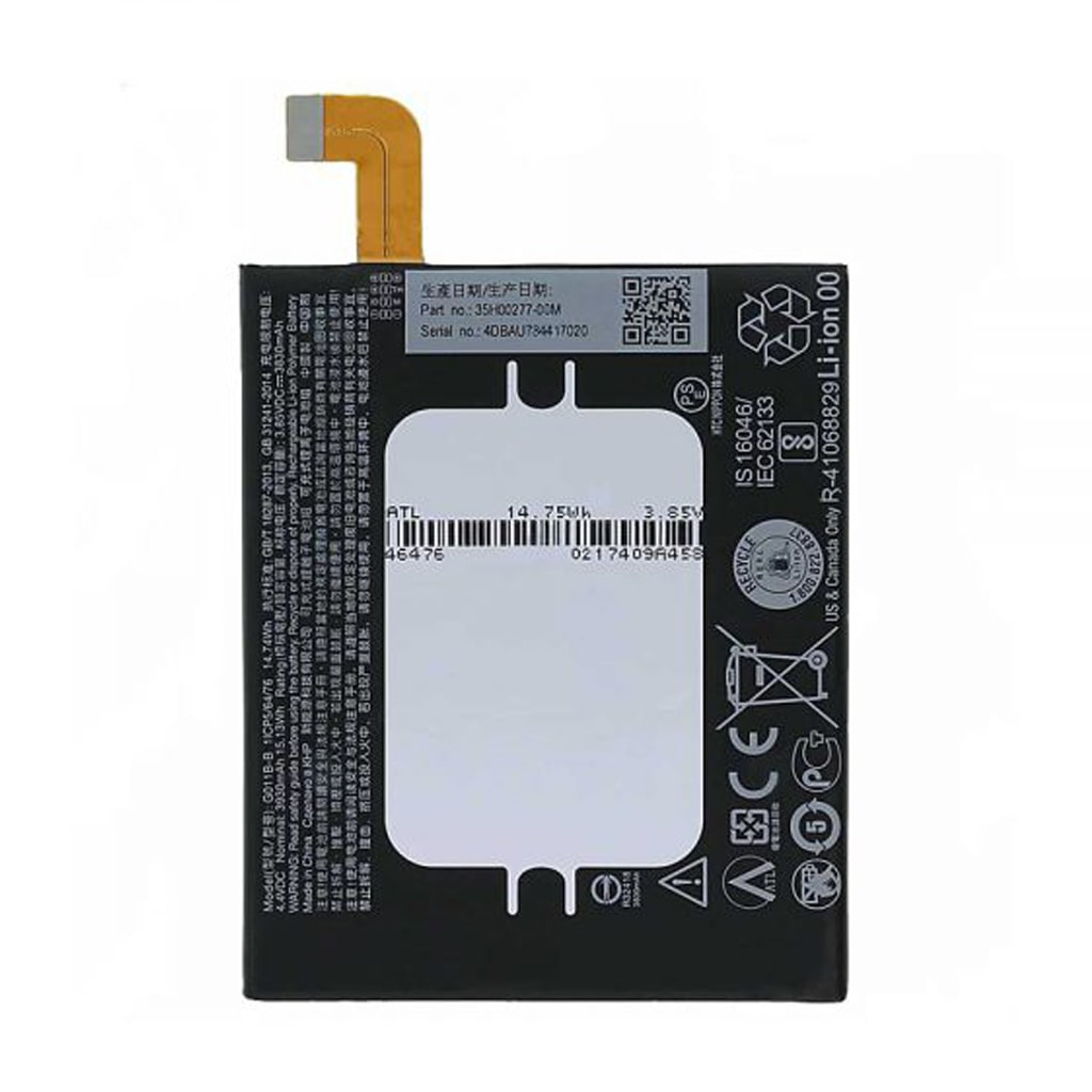 باتری موبایل htc U11 plus مدل G011B-B